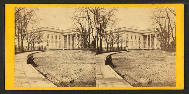 The President's House from the Eastern Carriage Entrance.