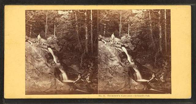Thompson's Cascades. Grinnell's Fall.