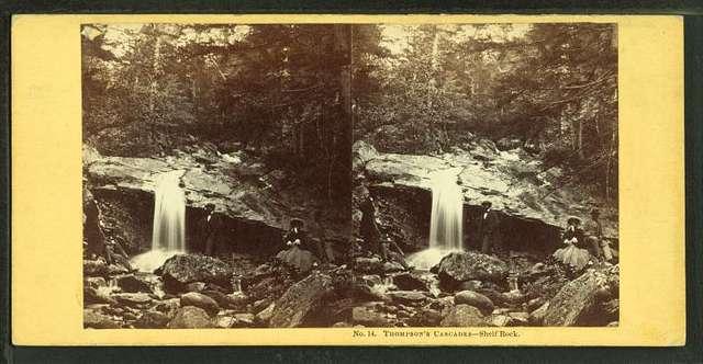 Thompson's Cascades. Shelf Rock.