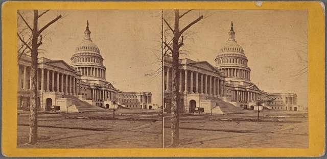 U.S. Capitol, East Front.