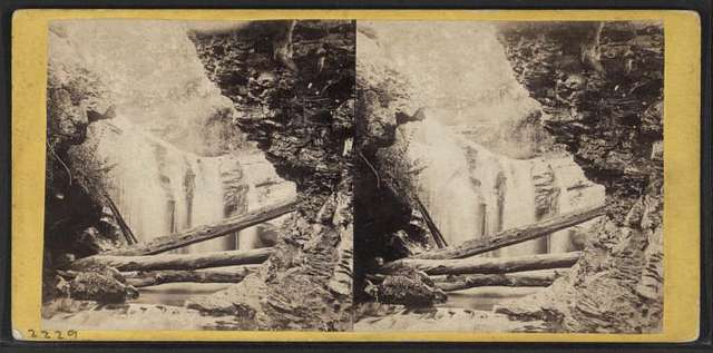 View of Marshall's Falls from below.