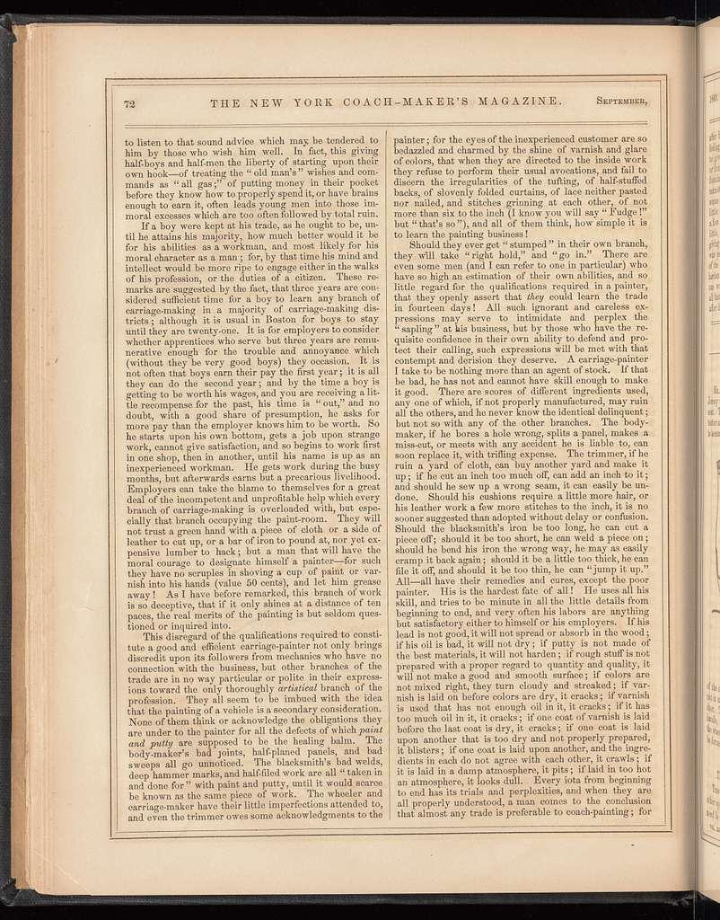 The New York coach-maker's magazine, Vol. 3, no. 4