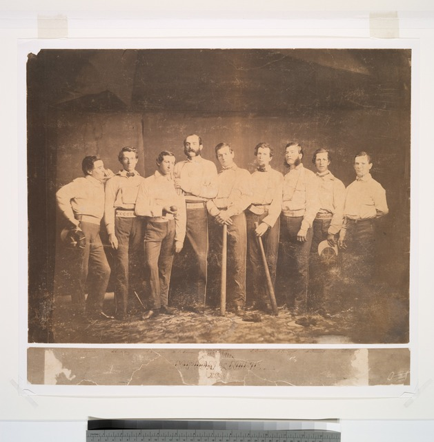 Excelsiors of Brooklyn, E., 1860, Raynolds, J. Whiting, Creighton, Polhemus, Pearsall, Russell, Leggett, Brainard, Flanly