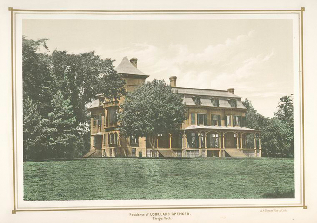 Residence of Lorillard Spencer. Throg's Neck.