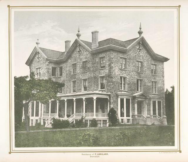 Residence of P. Lorillard. Bronxdale.