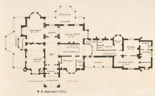 W. H. Aspinwall's villa.