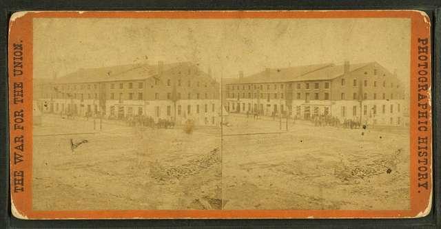 Libby Prison, north side, Richmond, Va.