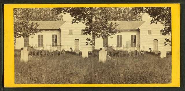 St. John's Church, Church Hill, Richmond, Va. This church is the place where Patrick Henry made his immortal speech.