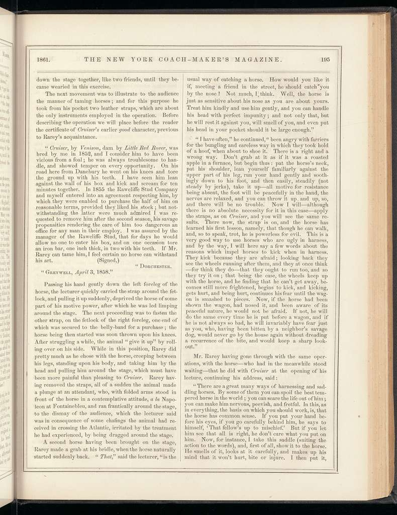 The New York coach-maker's magazine, Vol. 3, no. 10