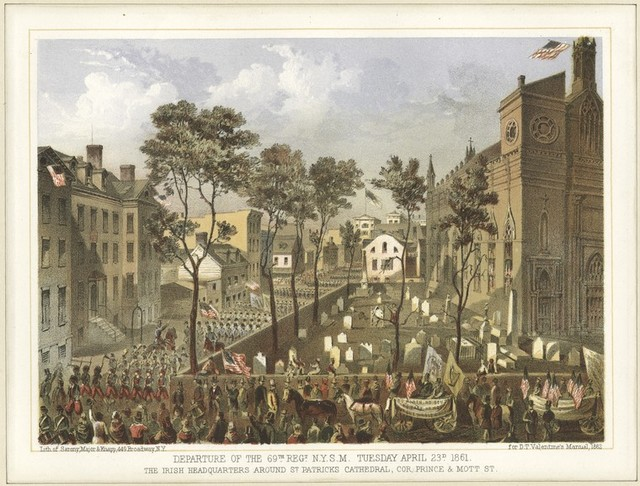Departure of the 69th Regt. N.Y.S.M. Tuesday April 23d 1861