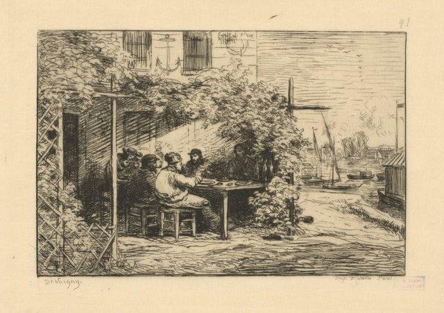 Le déjeuné du départ à Asnière (another impression)