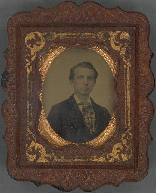 Unidentified classmate of Albert Warner