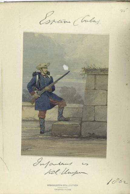 Infanteria : Kolonel Uniforme [?]. 1862