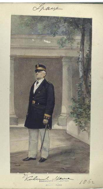 Kolonel Marine. 1862
