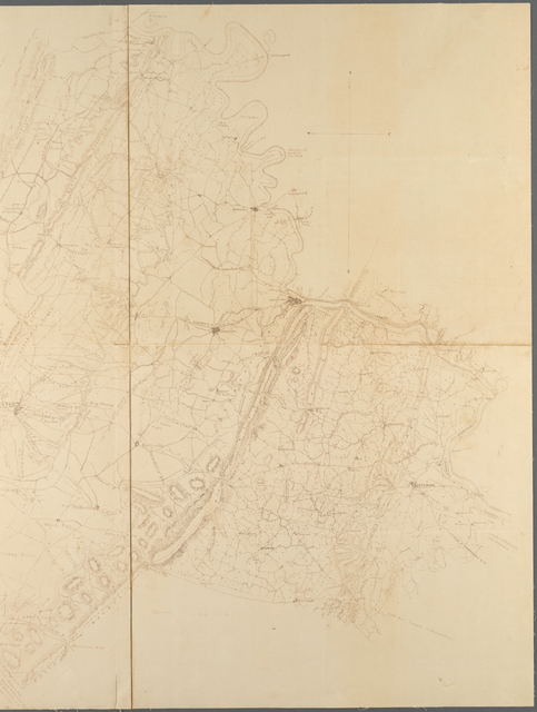 Map of Loudon [sic], Jefferson, Berkeley, Frederick Counties, Va: compiled under the direction of Lieut. Col. J.N. Macomb A.D.C., Chf. Topl. Engr., for the use of Maj. Gen. Geo. B. McClellan
