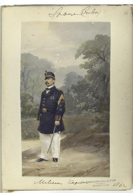 Milicias Kapitan. 1862