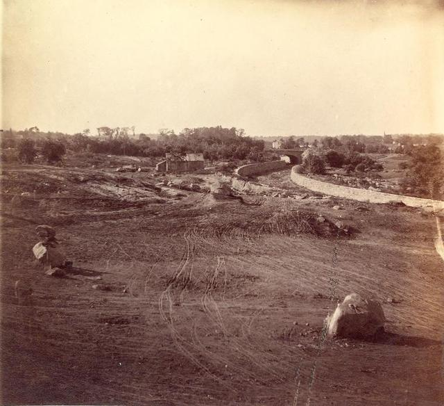 View of the crossing in connection with 8th Ave. and 96th St. October 18, 1862.