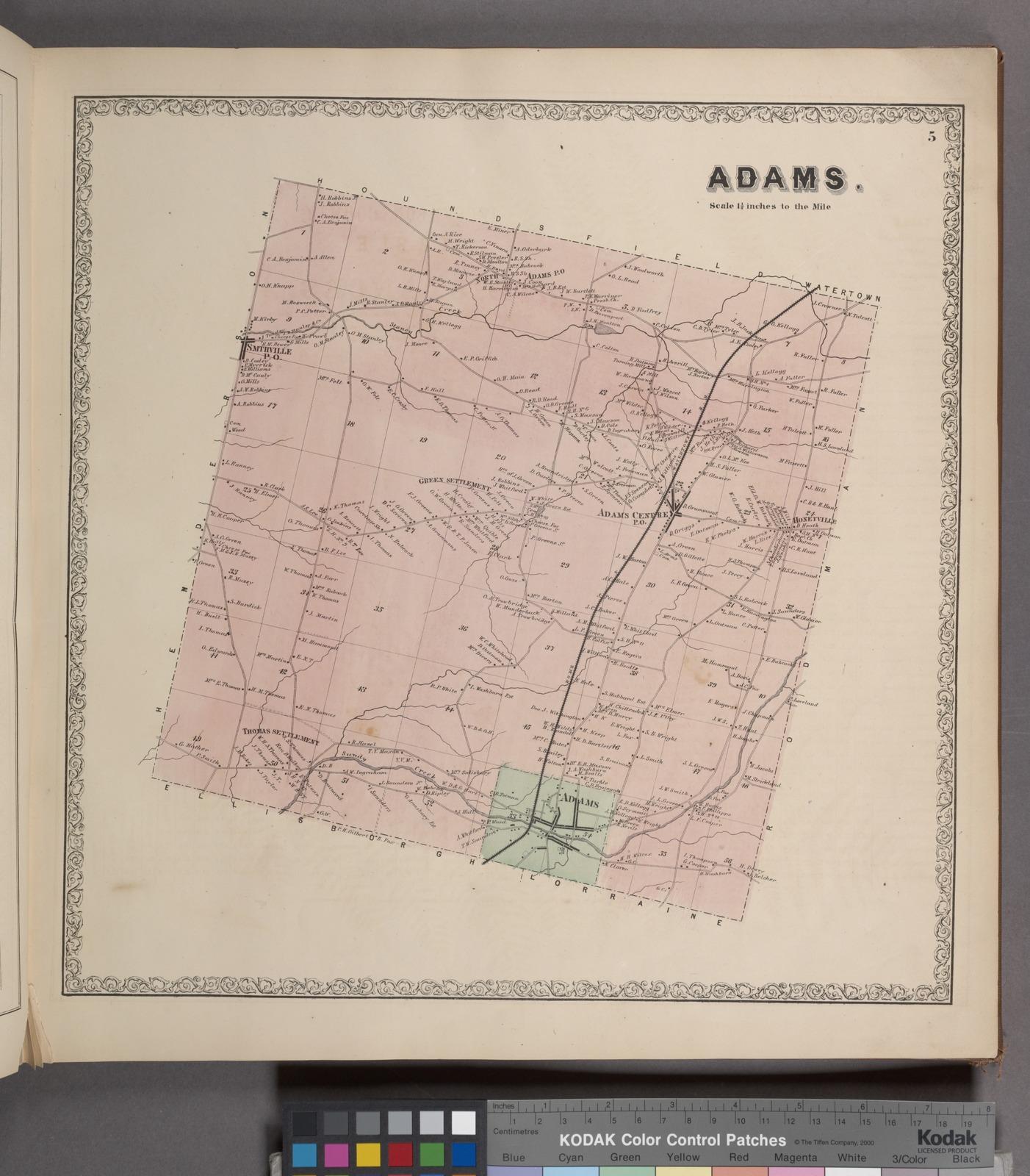 Adams. [Township]