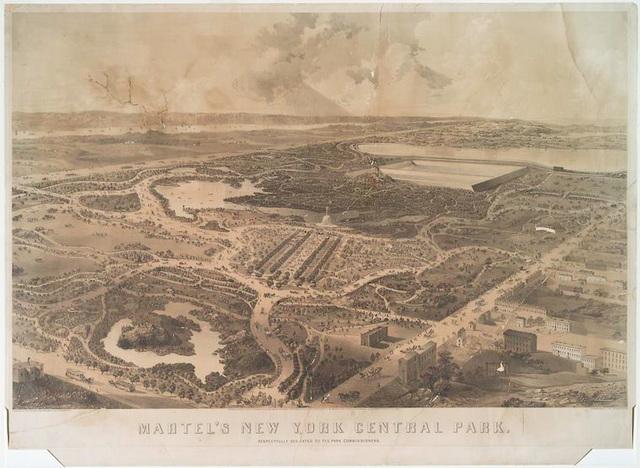 Martel's New York Central Park.