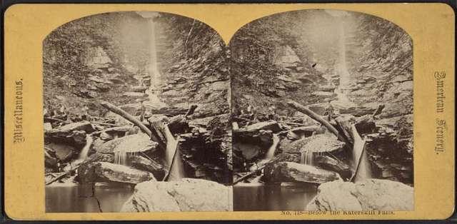 Below the Katerskill Falls.
