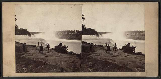Niagara, from Point view.