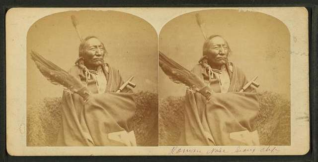 Sioux Chief 'Roman Nose'.