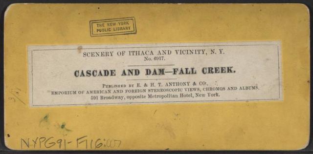 Cascade and Dam-Fall Creek.