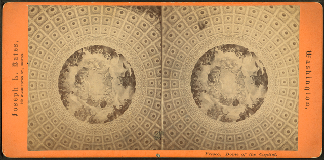 Frescoe. Dome of the Capitol.