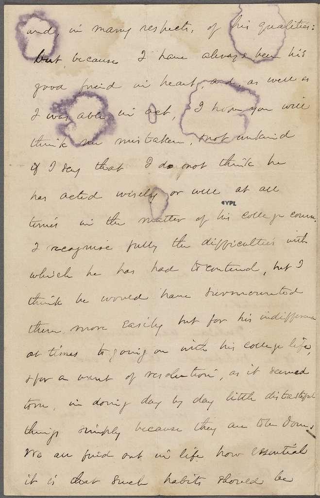 Gurney, E. W., ALS to SAPH. Feb. 9, 1866.