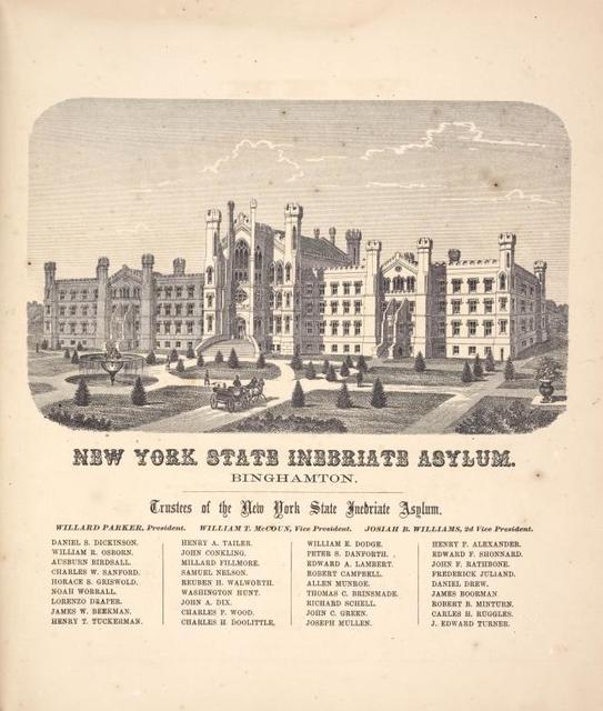 New York State Inebriate Asylum. Binghamtom.