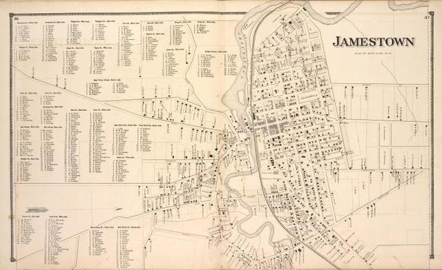 Jamestown Business Directory [cont.]; Jamestown [Village]