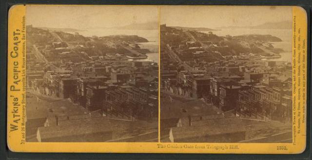 The Golden Gate, from Telegraph Hill.