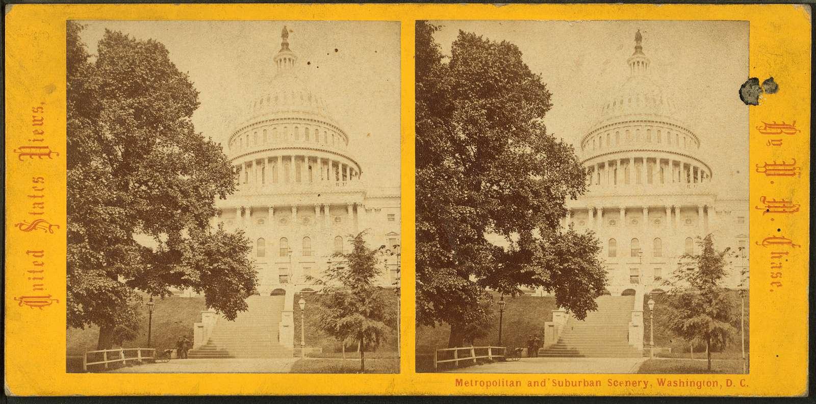 U.S. Capitol. West Front.