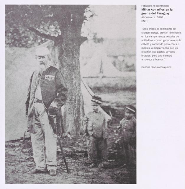 Militar con niños en la guerra del Paraguay. Page 43