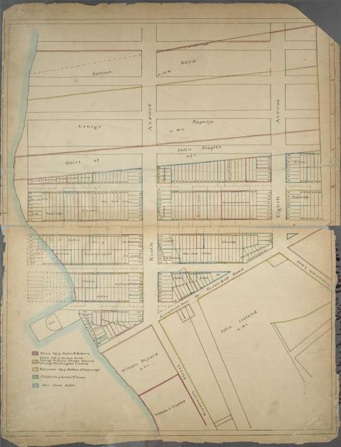 Page 1: [Bounded by W. 19th Street, Seventh Avenue, Greenwich Lane or Great-Kill Road and North River.]