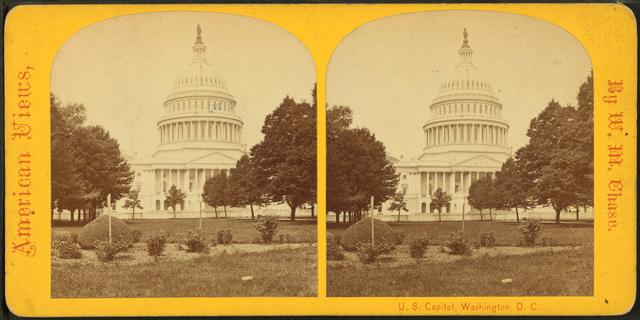 U.S. Capitol. Washington, D.C., from East Park.
