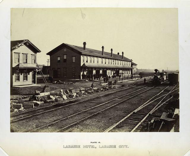 Laramie Hotel, Laramie City.
