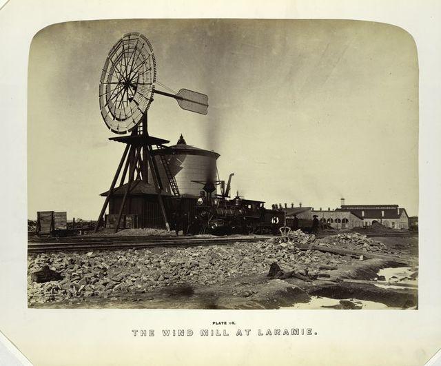 The wind mill at Laramie.