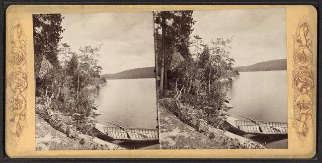 Lower Saranac Lake, Adirondacks, New York.