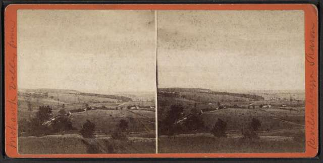 Mohawk Valley from Pavillion Piazza, Sharon Springs, New York.