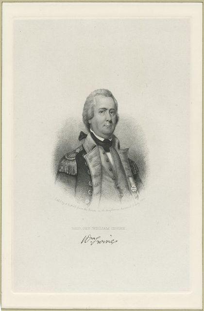 Brig. Gen. William Irvine.