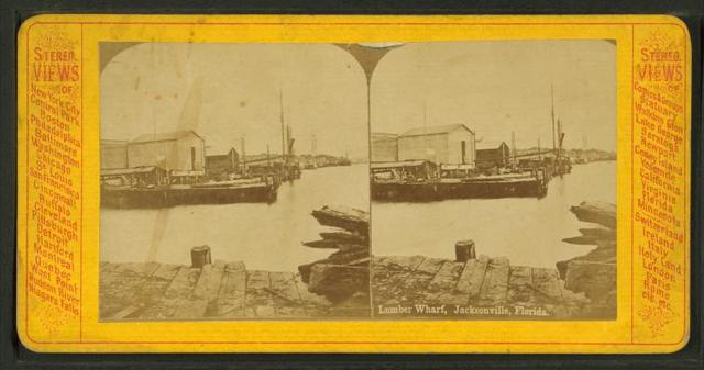 Lumber Wharf, Jacksonville, Fla.