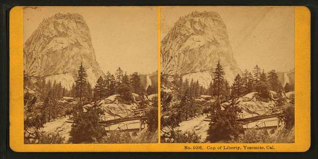 Cap of Liberty, Yosemite, Cal.