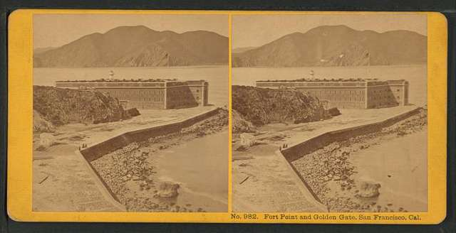 Fort Point and Golden Gate, San Francisco, Cal.