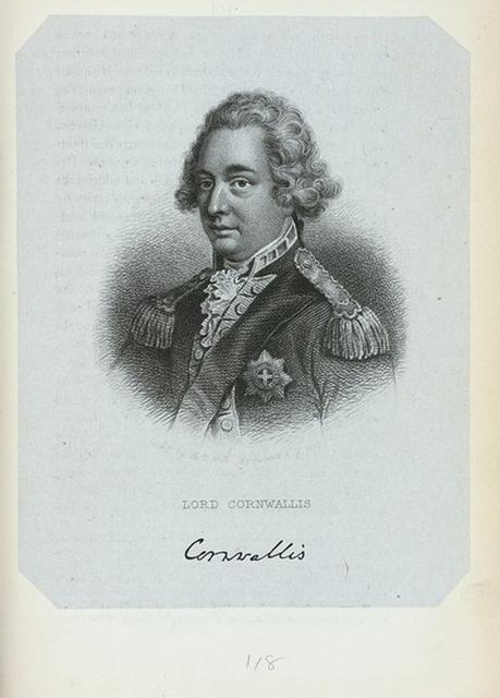 Lord Cornwallis.