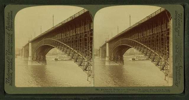Bridge over Mississippi, St. Louis, Mo.