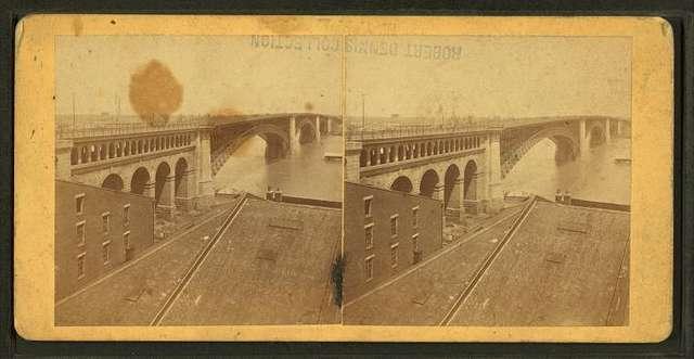 The Bridge from foot of Washington ave.