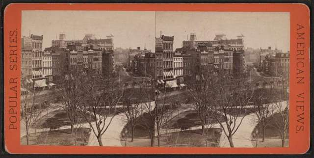 Union Square, looking North. From the Domestic Sewing Machine Co.'s building.