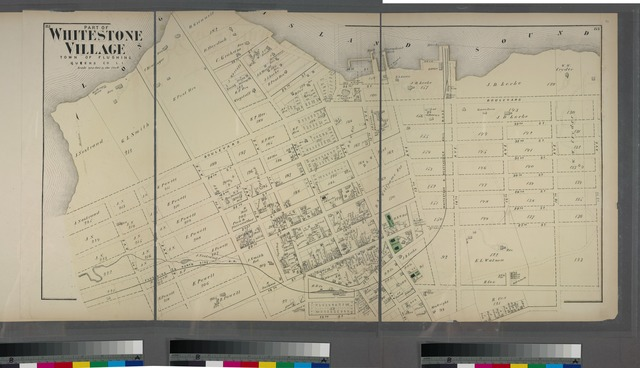 Part of Whitestone Village. Town of Flushing, Queens Co. L.I. [Covers from 3rd Avenue to 17th Avenue, and Boulevard to 17th Street.]