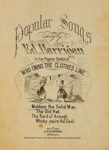 Muldoon, the solid man : popular song
